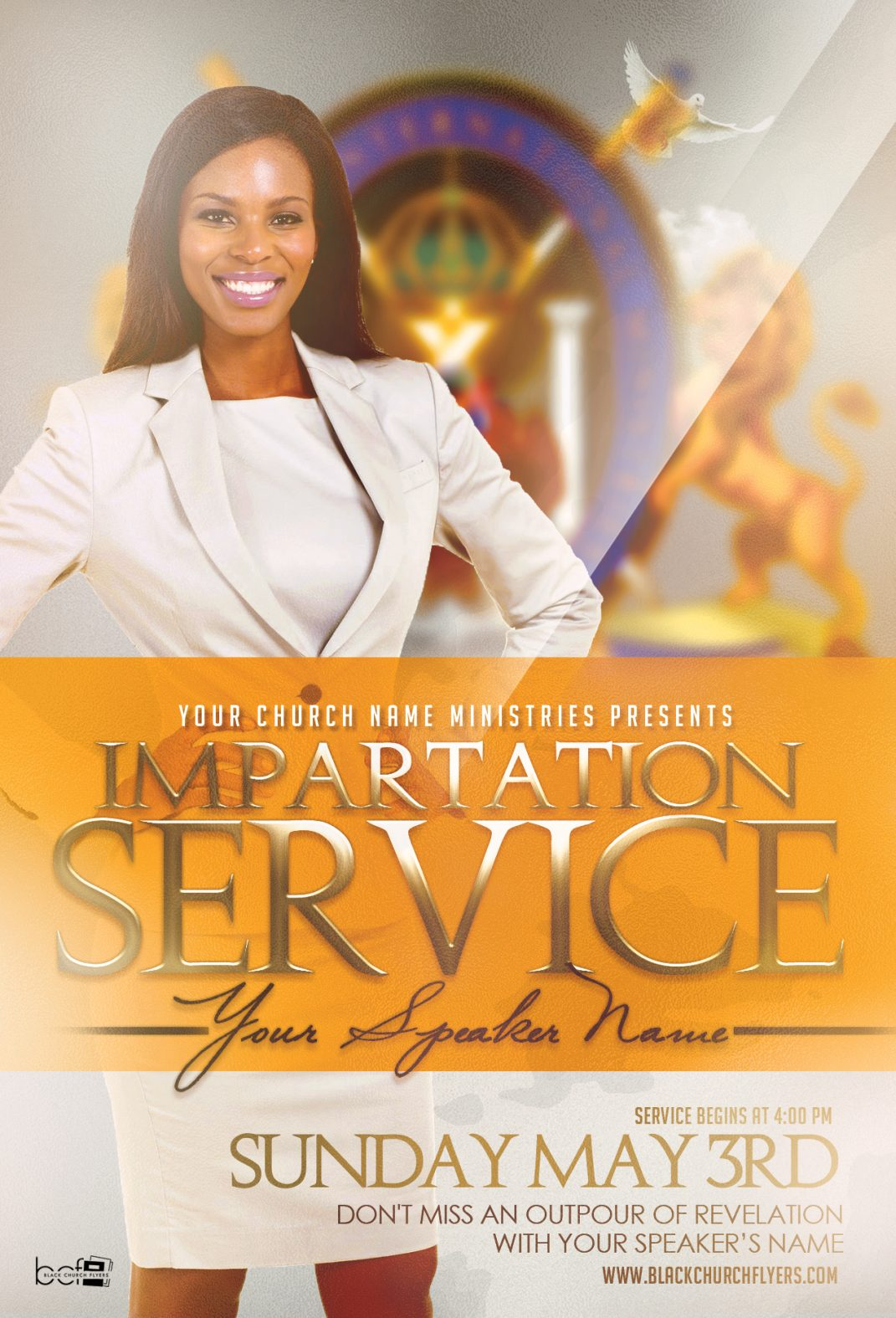 Black Church Flyers – The Perfect Solution for Designers!